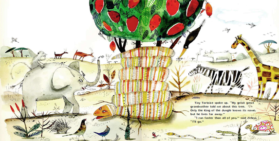 Latest picture book -THE MAGIC BOJABI TREE